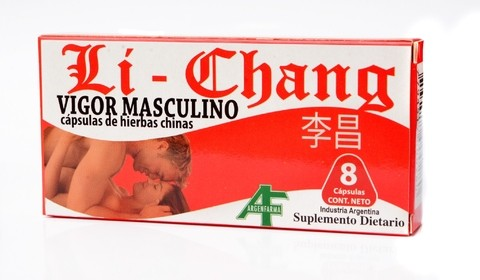LI CHANG - Energizante - Potencia Sexual