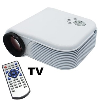 Proyector Mini LED CON TV HDMI hasta 120 Pulgadas H88