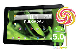Tablet 10.1 Pulgadas ANDROID 5.0 LOLLIPOP CUATRO NÚCLEOS 1GB RAM