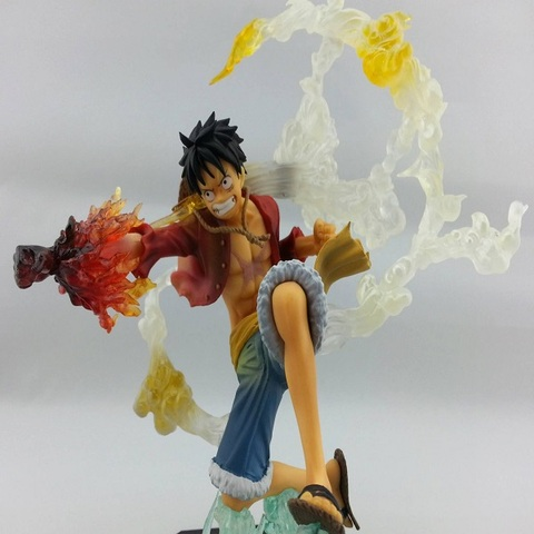 Action Figure Luffy Combate