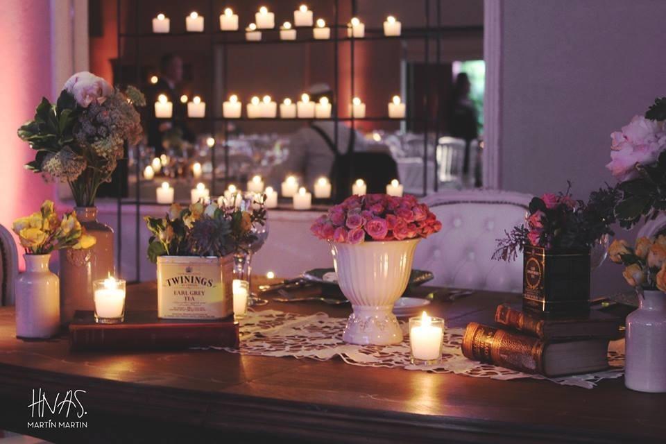 Ambientacion boda vintage for Ambientacion para bodas
