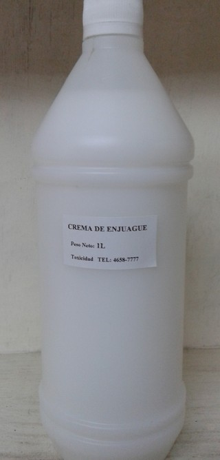Crema enjuague base