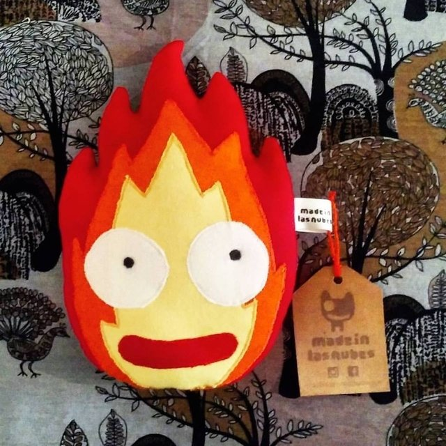 Calcifer en internet