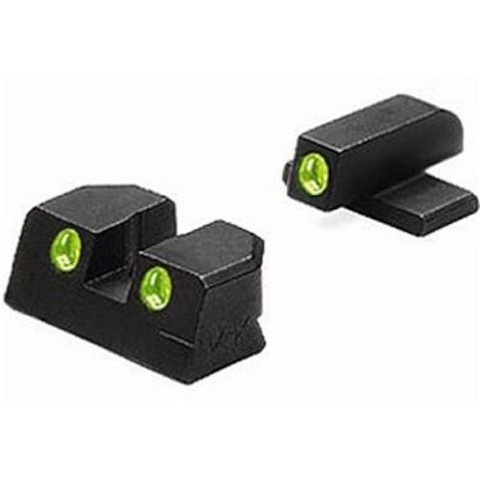 Meprolight Tru-Dot® Tritium Night Sights para Bersa Thunder PRO