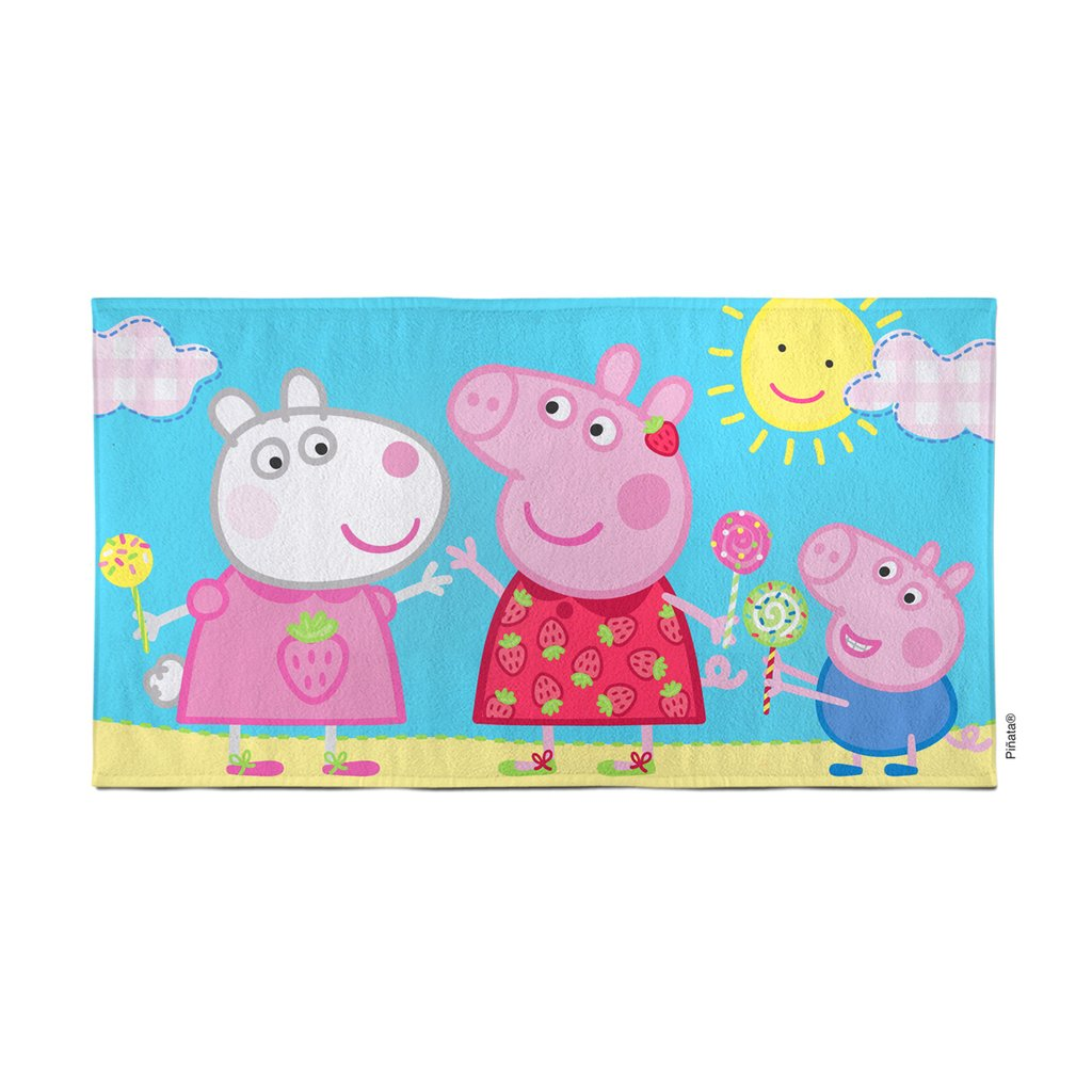 Toallon Disney Peppa Pig