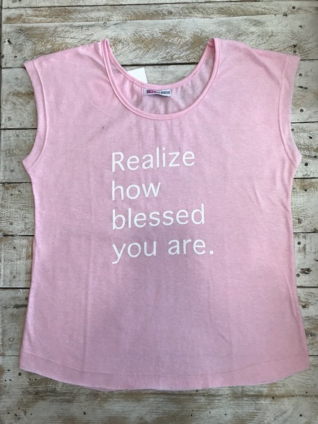 realize how blessed you are. - comprar online