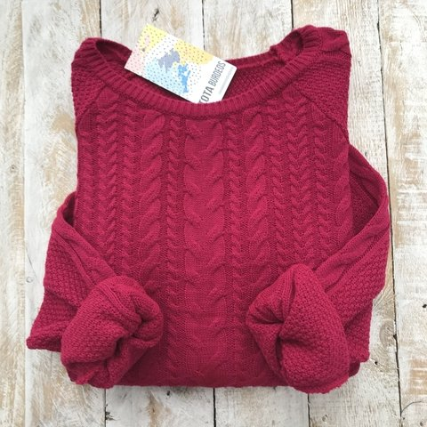 Sweater SOHO - Tota Burdeos
