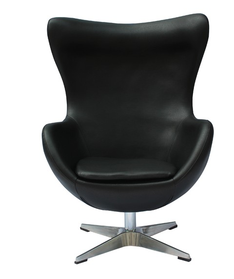 HE-805/N Sillon Egg Mediano Negro