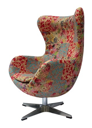 HE-805/P Sillon Egg Mediano Patchwork