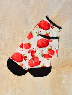 Media  Estampada Strawberry fields