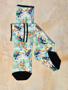 Media  Estampada Tropic