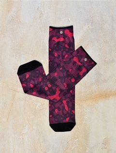 Media  Estampada Camuflada Red