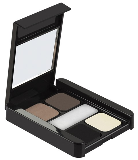 Paleta de Sobrancelhas Eyebrow Palette 5 em 1 MP Make Up