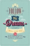 Cuaderno Follow Your Dreams - comprar online