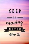 Cuaderno Keep on Moving - comprar online