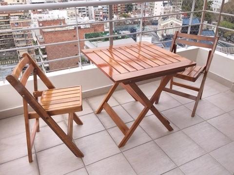 Tienda online de espacio madera for Mesas de terraza plegables