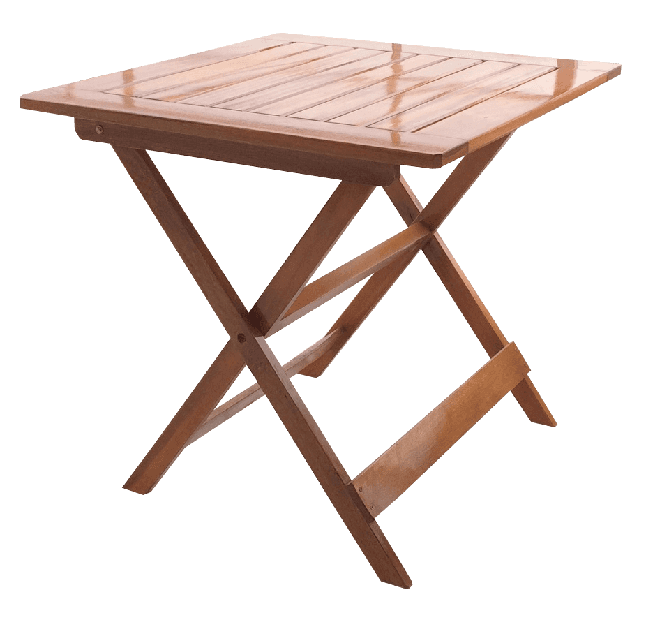 Mesa plegable lustre roble espacio madera for Mesa jardin madera plegable