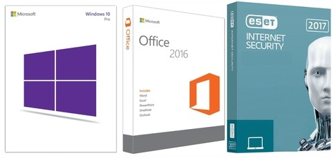 Super Promoção 87% OFF, Windows 10 Pro, OFFICE 2016 PROFESSIONAL PLUS E ESET INTERNET SECURITY 2017 1 PC 1 ANO