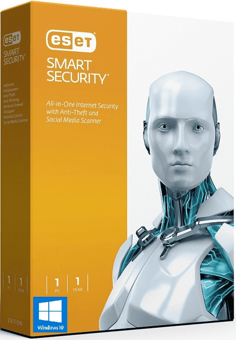 ESET Smart Security 9 - 2016 - 1 PC 6 Meses