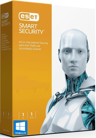 60% OFF - Só Hoje, Cyber Monday - ESET Smart Security 9 - 2016 - 1 PC 1 Ano