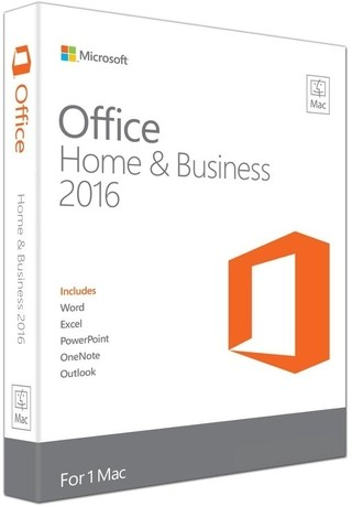 Microsoft Office Home & Business 2016 para Mac - Português