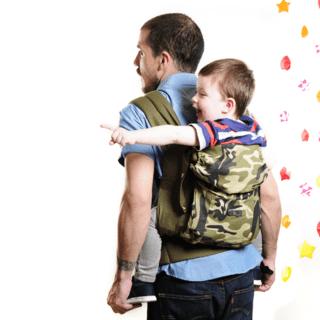 Mochila Toddler Safari