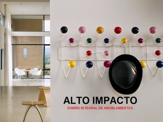 Perchero Pared Hang It All Eames Importado - Alto Impacto - ALTO IMPACTO Home + Office