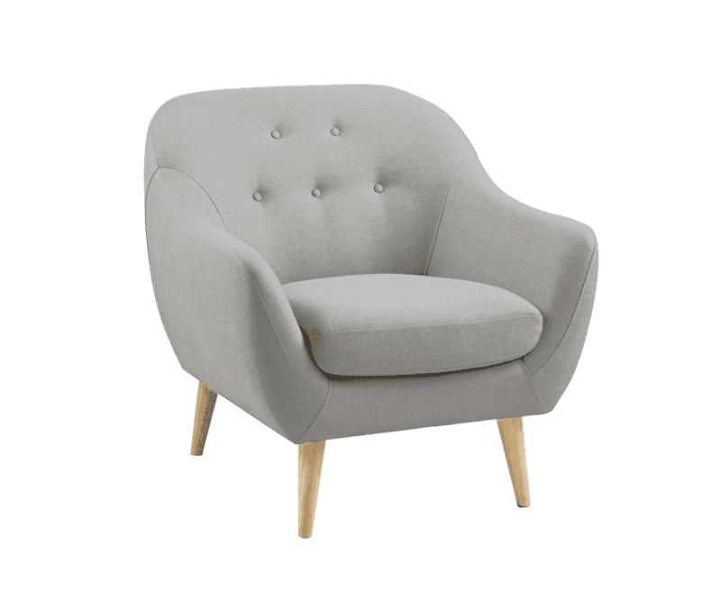 Sillon escandinavo 1 cuerpos modelo danish for Sofa cama de 2 cuerpos