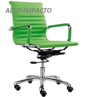 Sillon Aluminium Regulable Giratoria Oficina - Alto Impacto- en internet