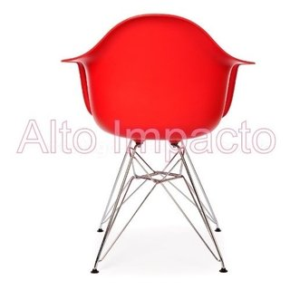 Set * 2 Sillon Eames Dar Base Metalica - Alto Impacto - ALTO IMPACTO Home + Office
