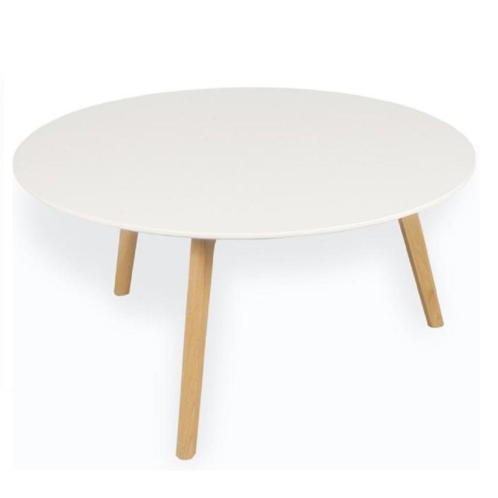 Mesa ratona auxiliar arrime escandinava laca - Laca blanca para madera ...