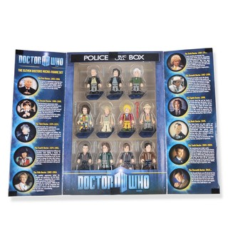 Set de figuras Doctor Who