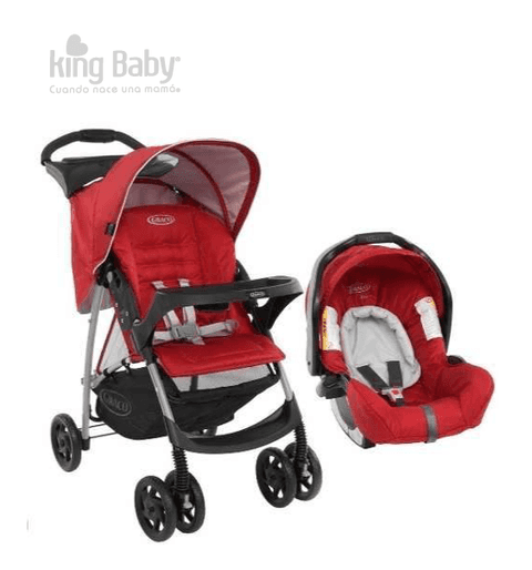 COCHE TRAVEL SYSTEM GRACO MIRAGE PLUS CHILLI