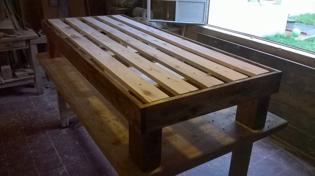 Comprar camas en madera maciza filtrado por m s vendidos for Cama otomana