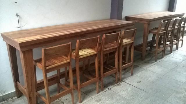 Comprar barras y banquetas en madera maciza filtrado por for Banquetas de madera