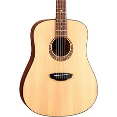Luna Guitars Gypsy Series Gypsy Muse Dreadnought Acoustic Guitar Natural - Boutique Del Musico