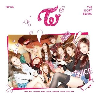 TWICE - 1st Mini Album [THE STORY BEGINS]