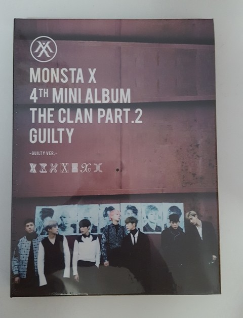 MONSTA X - 4TH MINI ALBUM [THE CLAN 2.5 PART.2 GUILTY] (GUILTY)