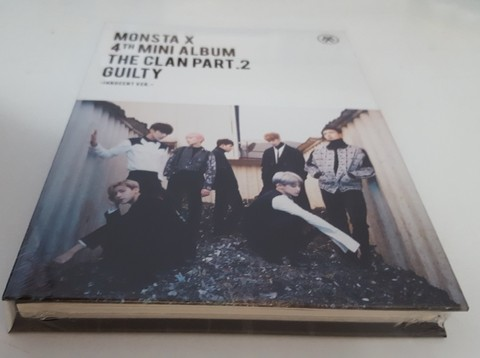 MONSTA X - 4TH MINI ALBUM [THE CLAN 2.5 PART.2 GUILTY] (INNOCENT) - comprar online