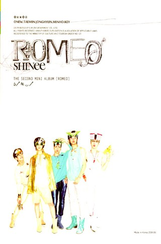 SHINee - 2nd Mini Album [ROMEO]