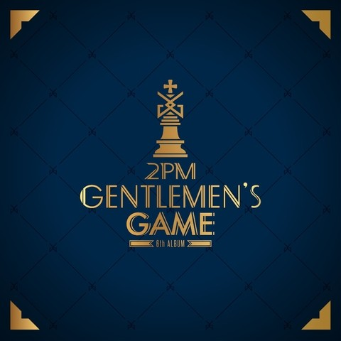 2PM - 6th Mini Album [GENTLEMEN'S GAME]