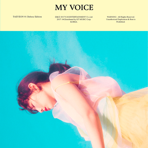 TAEYEON - 1st Album [MY VOICE] (Deluxe Version)