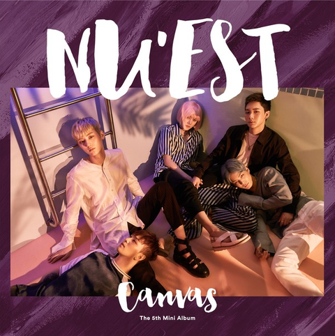 NU'EST - 5th Mini Album [CANVAS]