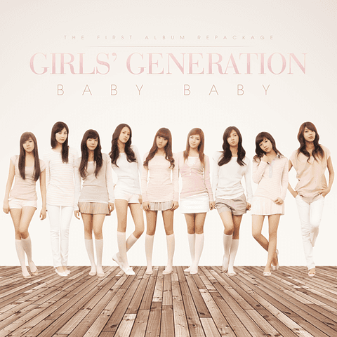 GIRLS' GENERATION - 1st Album Repackage [BABY]