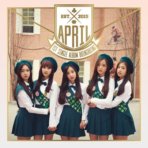 APRIL - 1st Single [BOING BOING]