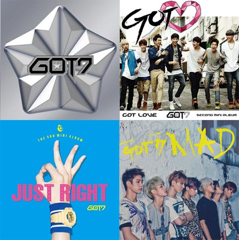 COMBO GOT7 COLLECTION