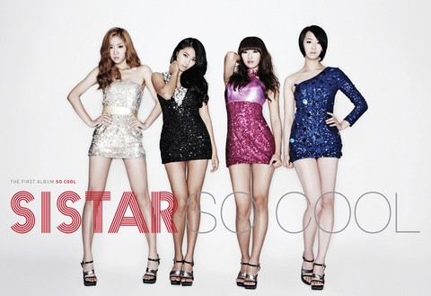 SISTAR - 1st Album [SO COOL]