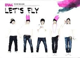 B1A4 - 1st Mini Album [LET'S FLY]