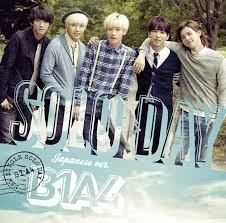 B1A4 - Single Japanese [SOLO DAY]