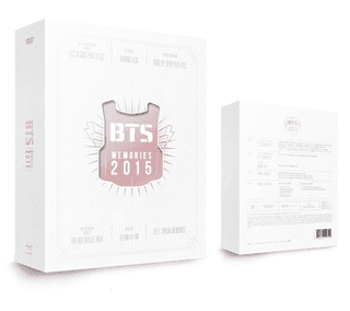 BTS - DVD&Photobook [MEMORIES OF 2015]